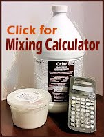 Oxine Chlorine Dioxide and Citric Acid mixing amounts